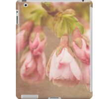 Spring Time - Pink Blossom Textured iPad Case/Skin