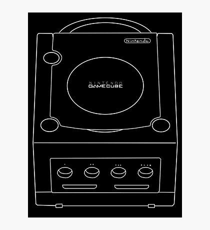 Basic GameCube Photographic Print