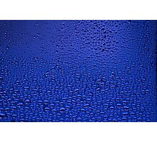 Water Drops On Window Photographic Print