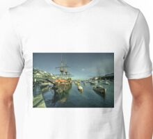 The Golden Hind at Brixham  Unisex T-Shirt