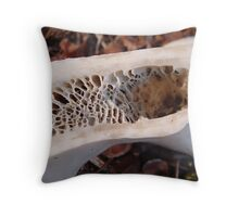 What holds us up. Throw Pillow