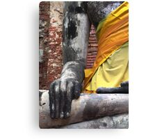 Buddha Hands Canvas Print