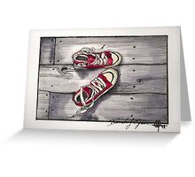 Nic's Favorite Shoes Greeting Card