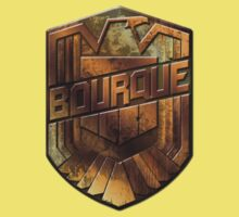 Custom Dredd Badge - Bourque Kids Clothes