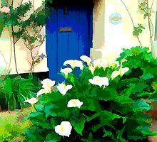 Dunster Cottage, Exmoor by Peter Sandilands