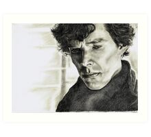 A Study of Sherlock Art Print