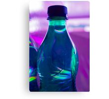 Bottle full of water Canvas Print