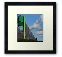 The Auto Facade Framed Print