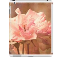 Scents of Summer - Textured Roses iPad Case/Skin