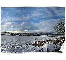 White Winter , Blue Winter Poster