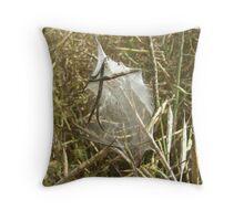 Spider Nursery Throw Pillow
