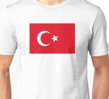 Turkey flag Unisex T-Shirt