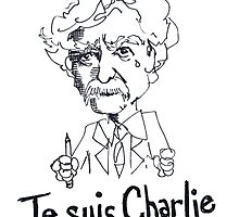 Je suis Charlie - Mark Twain by Ellispaul