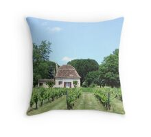 home winery Throw Pillow