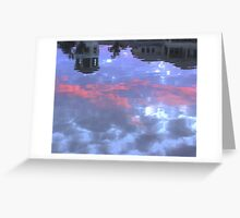 Reflection of the Sky Greeting Card