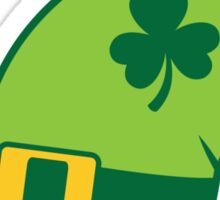 Green Irish Leprechaun hat Sticker