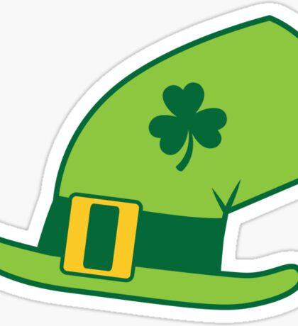 Green Irish Leprechaun hat Sticker