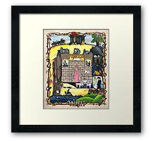 The Princess Bride - illumination Framed Print