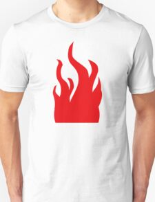 Red flames T-Shirt