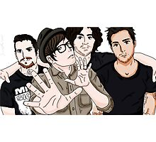 Fall Out Boy Fanart Photographic Print
