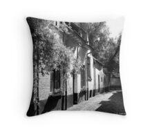 Lier - Beguinage street Throw Pillow