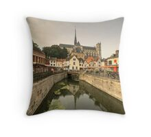 Amiens Reflections  Throw Pillow