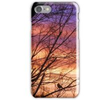 Morning Comes with Song iPhone Case/Skin