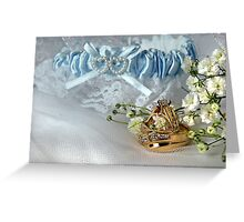 Wedding Bands Greeting Card