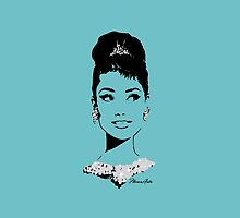 Audrey in Tiffany Blue by floresarts