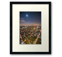 Across the City Framed Print