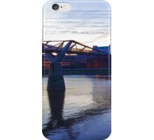 Impressions of London in Purple iPhone Case/Skin