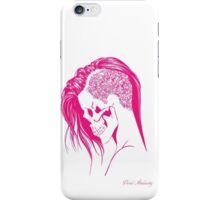 PINK PUNK SKULL GIRL iPhone Case/Skin