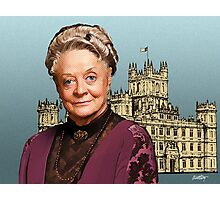 Lady Violet Crawley, Dowager Countess - Downton Abbey Photographic Print