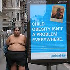 childhood obesity statement-part of the sumo series by bodymechanic
