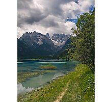Lago di Landro Photographic Print