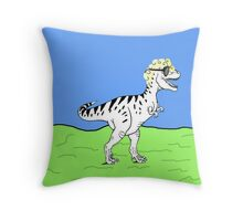 Gynosaurus Rex Throw Pillow