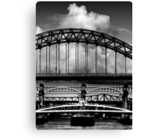 Bridges Over the Tyne Canvas Print
