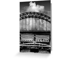 Bridges Over the Tyne Greeting Card