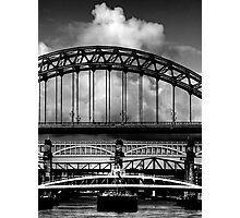 Bridges Over the Tyne Photographic Print