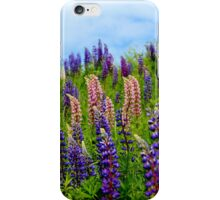 Wild Lupins IV iPhone Case/Skin