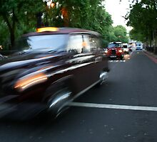 The problem with taxi's is they will pickup anyone. by Joshua Thurston