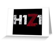 H1Z1 title Greeting Card