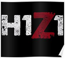 H1Z1 title Poster