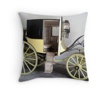 another of Lordy's carriages. Throw Pillow