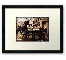 Harveys Dray Framed Print