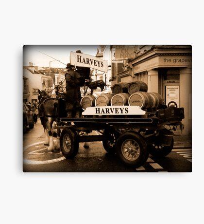 Harveys Dray Canvas Print