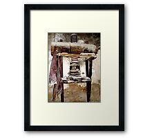 OLD, UNLOVED AND UNUSED Framed Print