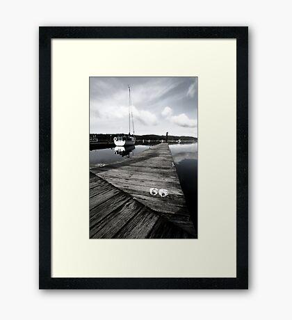 #66 Framed Print