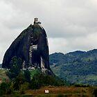 The Peñol Stone... by Elba Parra