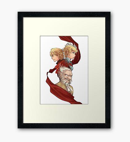 Radiant Historia Framed Print